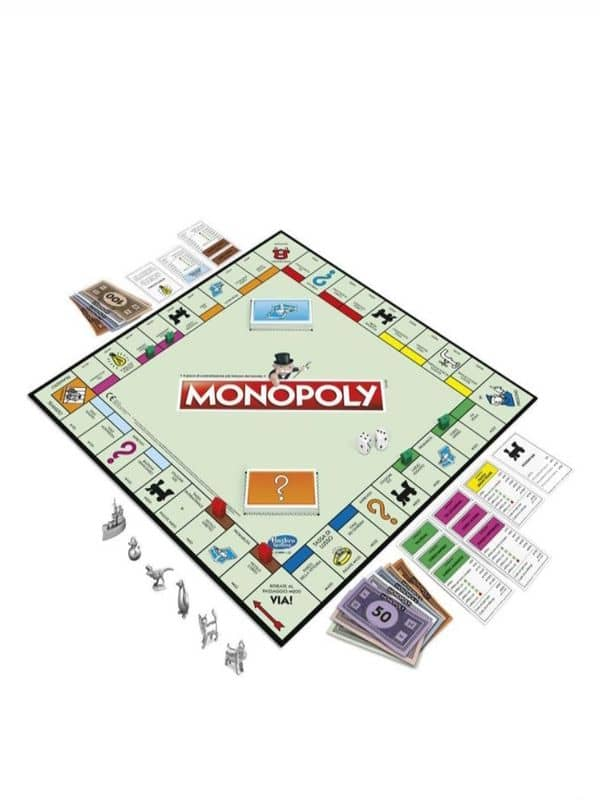 tabellone completo monopoly